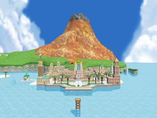 Delfino Plaza - Super Smash Bros․ for Wii U