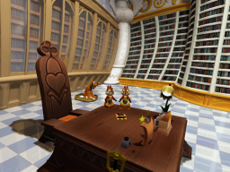 Kingdom Hearts 3 - Disney Castle Library (Only)
