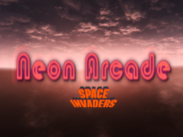 Neon Arcarde - Space Invader