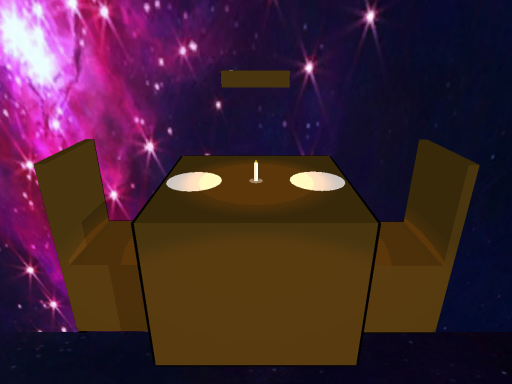 Dinner in space (NEW UPDATE)