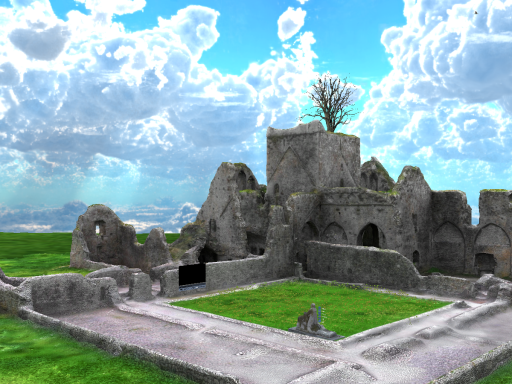 Ruins of Hore Abbey Room