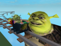 cart ride in to Shrek roblox