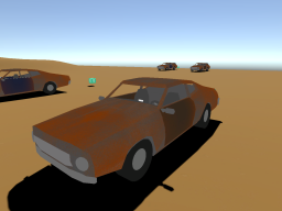 Drivable Cars in the Desert