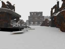 Snow and Ruins