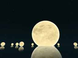 The Peaceful Moons