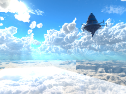 Aincrad the floating castle in the sky