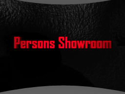 Persons showroom