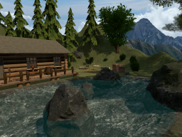LogHouse_in_Mountains