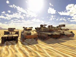 Battlefield 2 Armored Vehicles