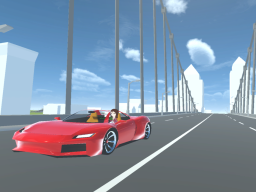 Simple city driving world