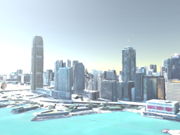 3D City Hong Kong