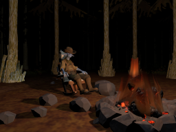 Outer Wilds˸ Eye Campfire