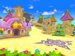 Lively Town (Pokemon Super Mystery Dungeon)