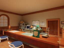Resident Service Building - Animal Crossing˸ New Horizons