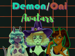 Demon/Oni avatar world ∗Halloween∗