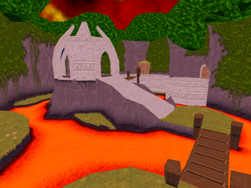 ~ Spyro - Year of the Dragon - Molten Crater ~