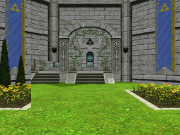 Hyrule Castle Courtyard