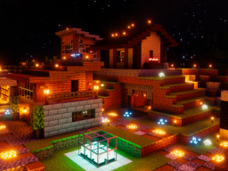 Small Minecraft Town