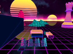 4D Synthwave Chess