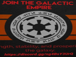 The Galactic Empire avatar world