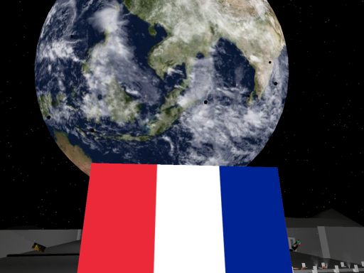 French Dinner In Space