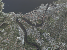 trondheim norway but its really small
