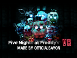 Five Nights at Freddy's Help Wanted VRChat v1․1