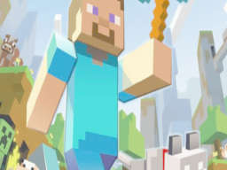 NO NEW WORLD THIS WEEK I WAS PLAYING MINECRAFT AND HAVING A LOT OF FUN I HAVE A NETHERITE SWORD