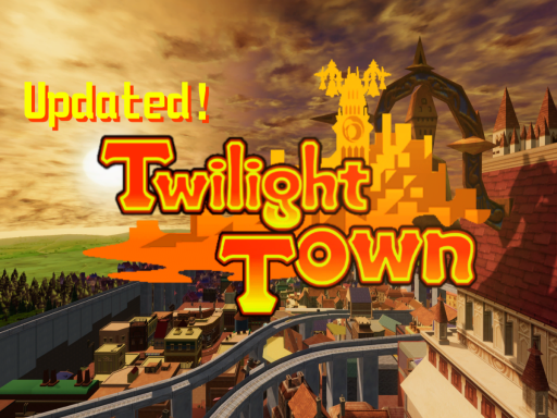 Twilight Town - Kingdom Hearts II