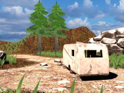 Camping zone in the sun [WIP]